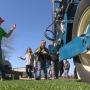 City kids meet pen pals on the farm