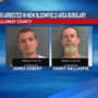 Two arrests in Callaway County for burglaries
