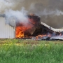 Hundreds of hogs lost after massive confinement barn fire