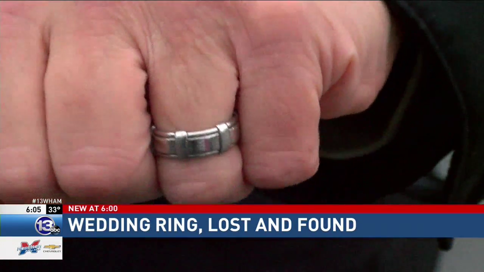 Good Samaritan saves the day reuniting couple with lost wedding ring
