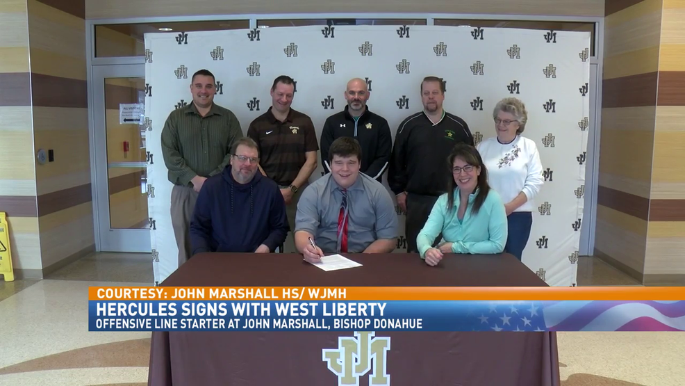 2.14.19 Video - John Marshall's Hercules signs with West Liberty
