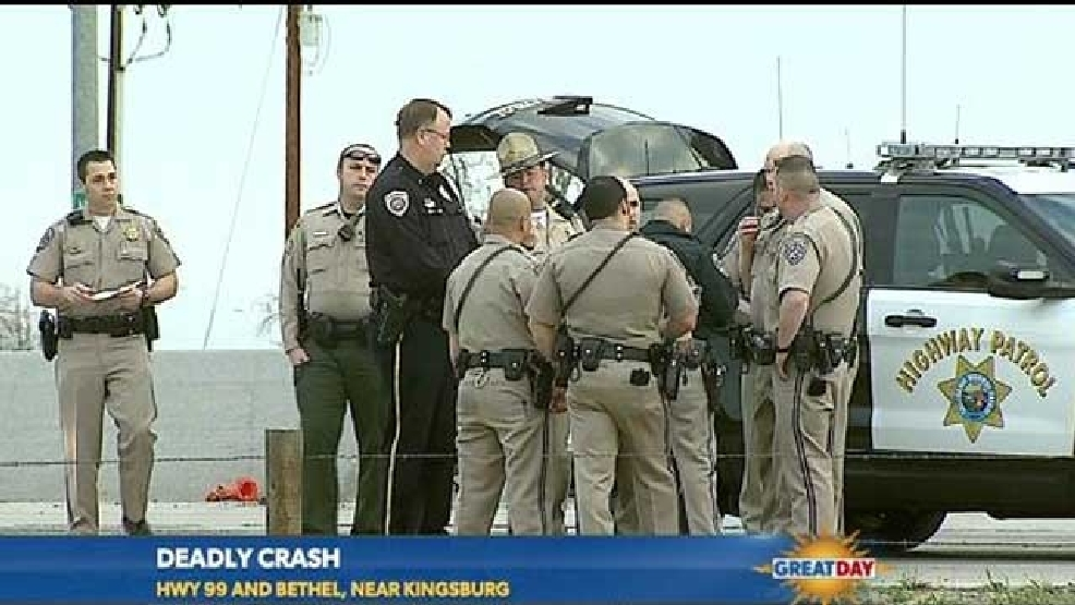 Two CHP Officers Killed In Crash On Highway 99 Kingsburg
