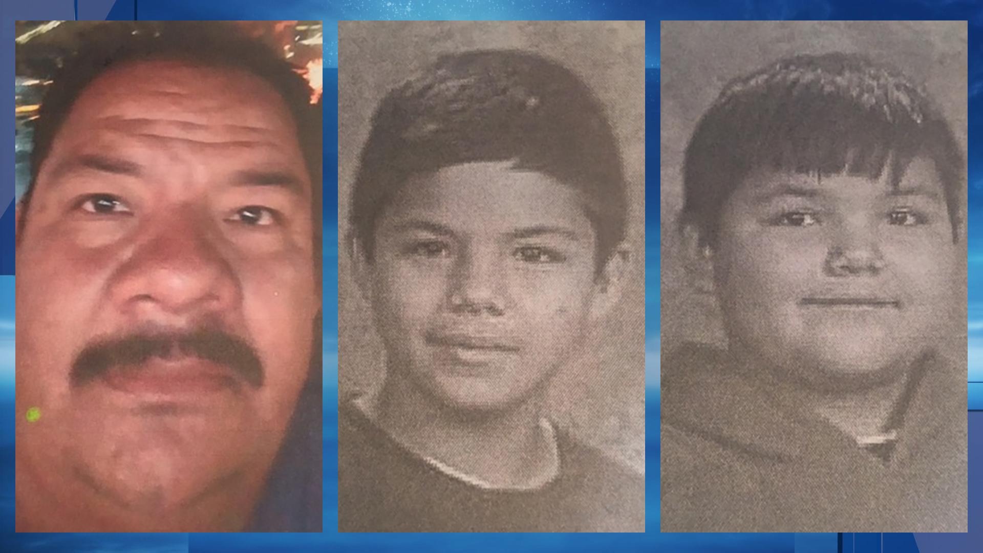 From left is Eleuterio Hernandez Davila, Edwin Hernandez and Edgar Hernandez. They are missing, according to the Bakersfield Police Department, which provided these photos Monday, April 17, 2017.