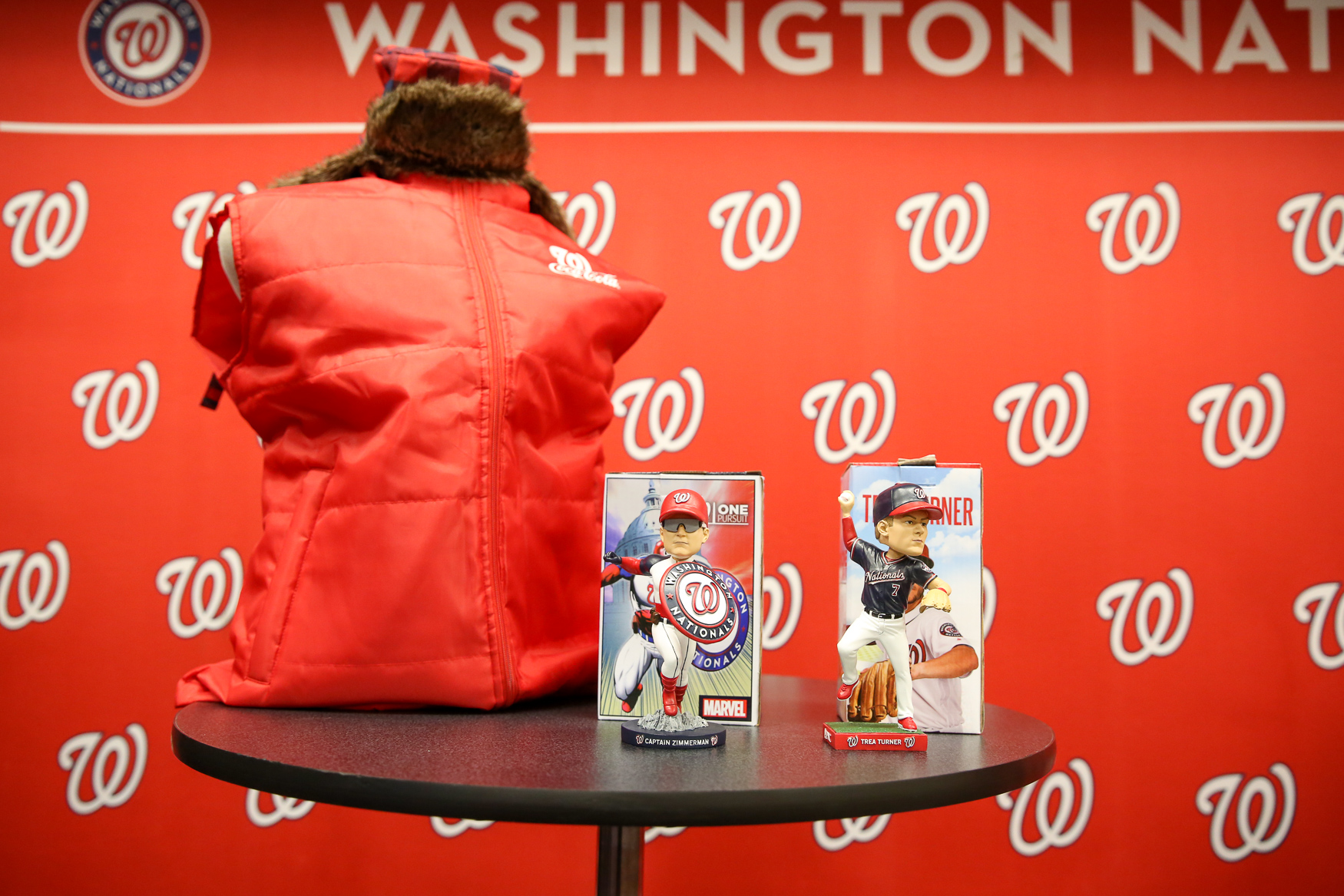 In total, there will be eight bobblehead giveaways over the season. (Amanda Andrade-Rhoades/DC Refined)