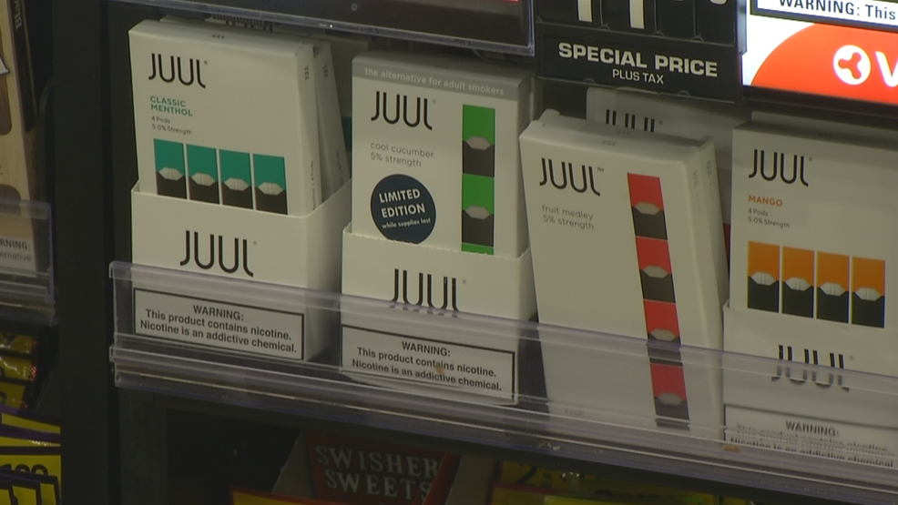 Juul Labs removing flavored e-cigarettes from gas and convenience