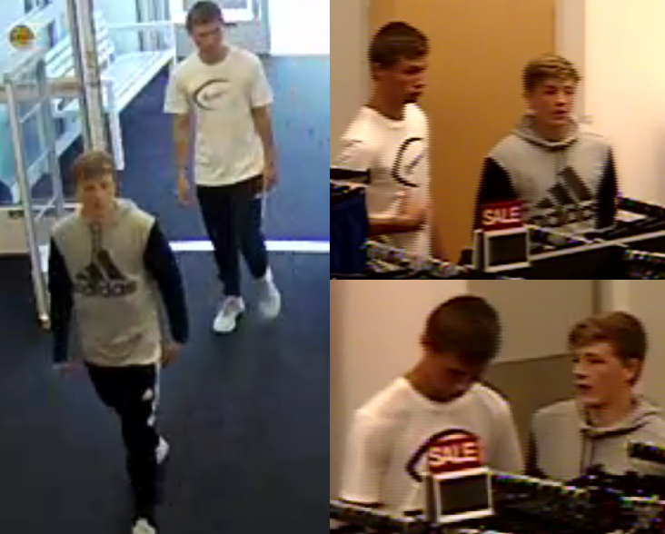 The Dalton Police Department wants your help identifying two men they say shoplifted watches worth more than $300 from the Kohl's store at 835 Shugart Rd in Dalton on Tuesday. (Image: Dalton PD)