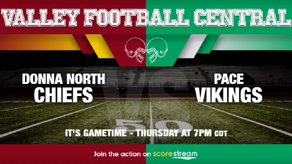 Watch Live: Donna North Chiefs vs. Brownsville Pace Vikings