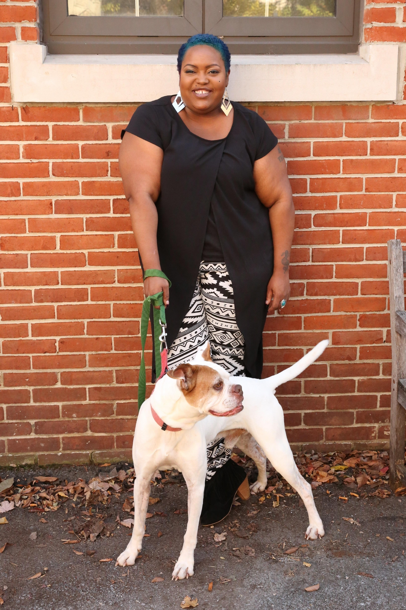 5-year-old Debo is available for adoption at the Humane Rescue Alliance's Oglethorpe location.  Poet Taylor| Washington, D.C.| Multi-media personality (Amanda Andrade-Rhoades/ DC Refined)