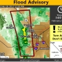 Flooding closes Scenic Loop at Red Rock; flood advisory extended until 3 p.m.