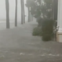 VIDEO | Irma's storm surge overwhelms the Battery in downtown Charleston