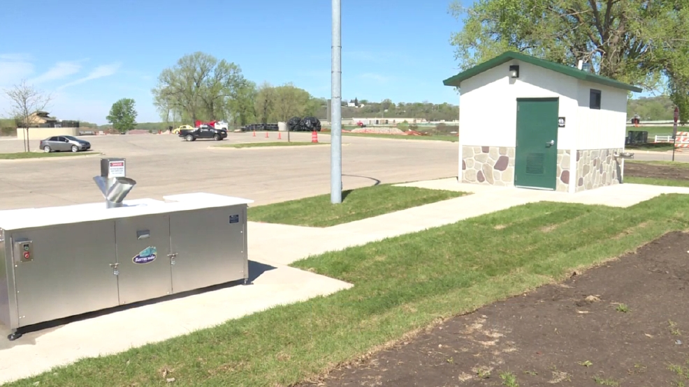 Larson park adds accessible restrooms and fish cleaning for Fish cleaning station near me