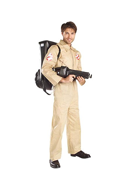 Ghostbusters Costume With Inflatable Backpack (Amazon Prime Now)<p></p>