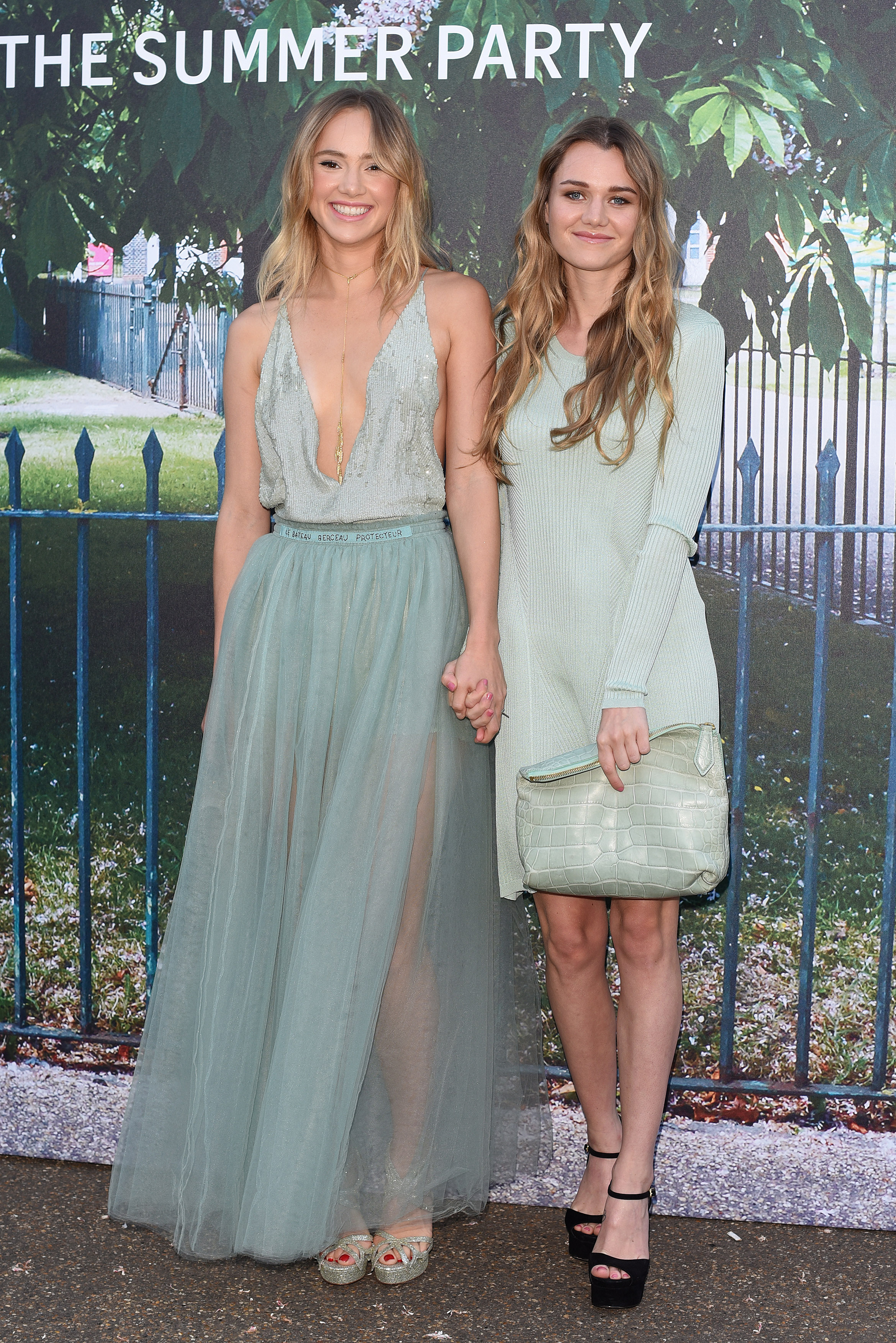 Serpentine Gallery summer party held in Kensington Gardens - Arrivals  Featuring: Suki Waterhouse, Immy Waterhouse Where: London, United Kingdom When: 02 Jul 2015 Credit: Daniel Deme/WENN.com