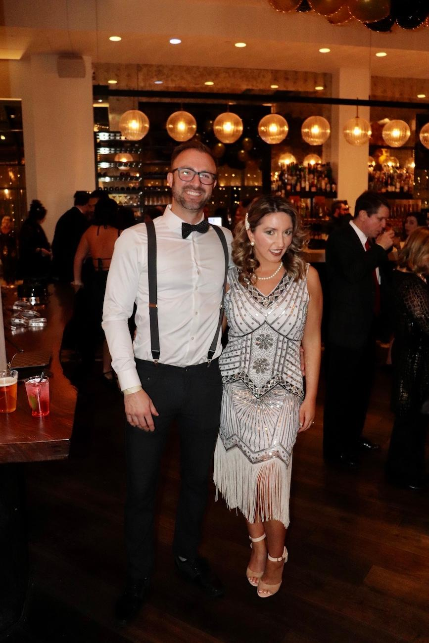 "Hotel Covington's 2019 New Year's Eve party was fittingly themed as ""The Roaring Twenties."" The swanky soiree took place on Tuesday, December 31 and featured champagne, light bites, a photo booth, a balloon drop, and music provided by DJ Future. General admission and VIP tickets were available, ranging from $75 to $250 per ticket. The VIP experience included a private lounge space, a five-course tasting dinner, and an open bar. ADDRESS: 638 Madison Avenue (41011) / Image: Alli Robben // Published: 1.1.20"