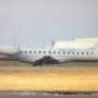 Plane skids off pavement at Amarillo airport