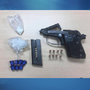 18-year-old male arrested with loaded handgun and narcotics in North Baltimore