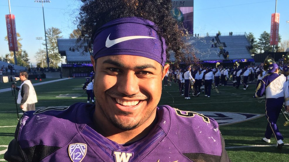 UW's Vita Vea selected by Buccaneers as 12th overall pick in first round of NFL Draft