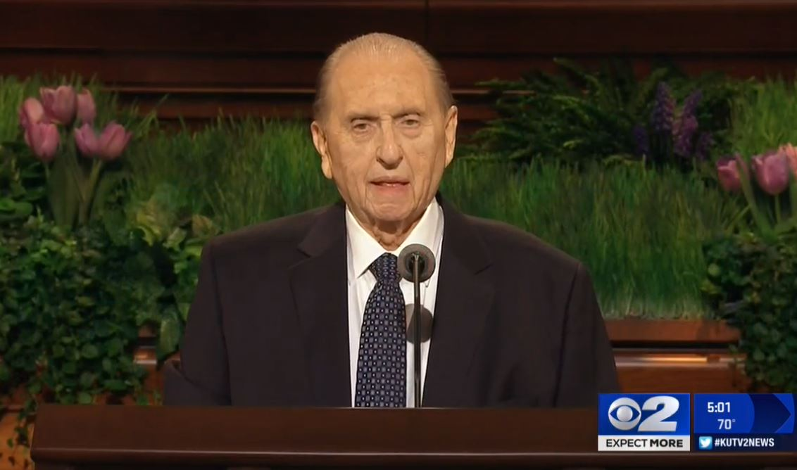 LDS President Thomas S. Monson. (KUTV, file)