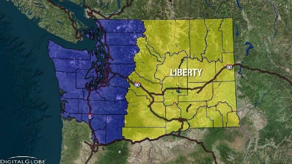 Eastern Washington lawmakers file bill to split state