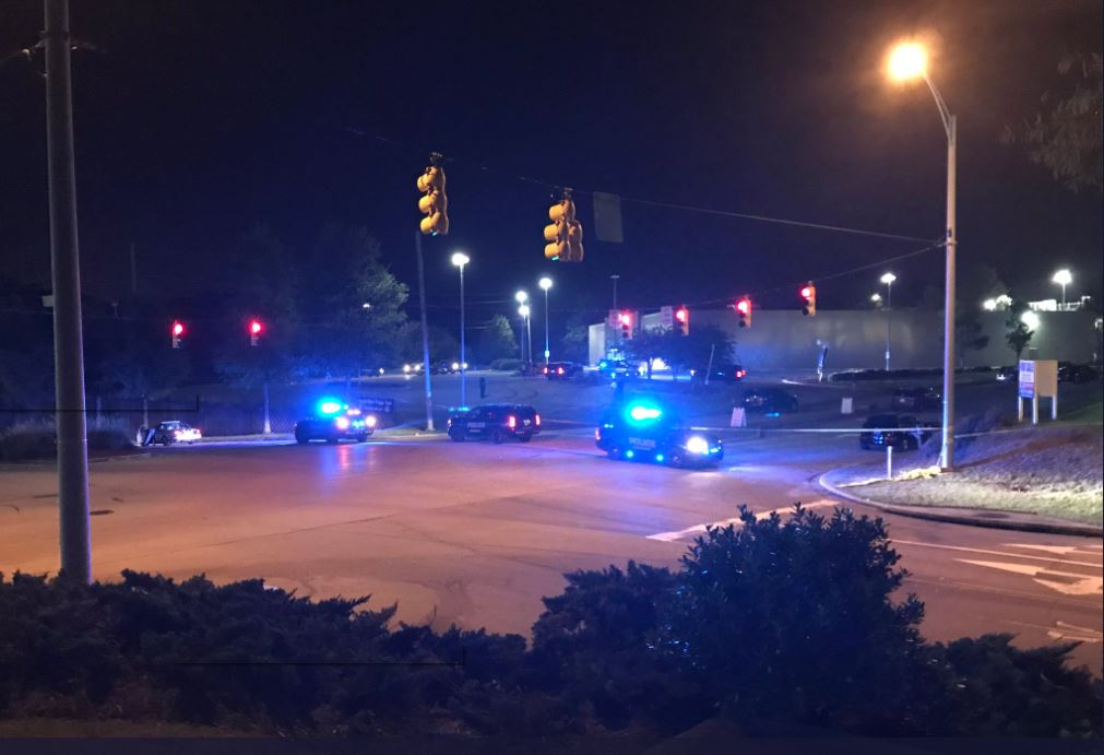 A Homewood Police officer was in serious condition Thursday after authorities say he was shot by a runaway suspect. (Alan Baker | abc3340.com)<p></p>