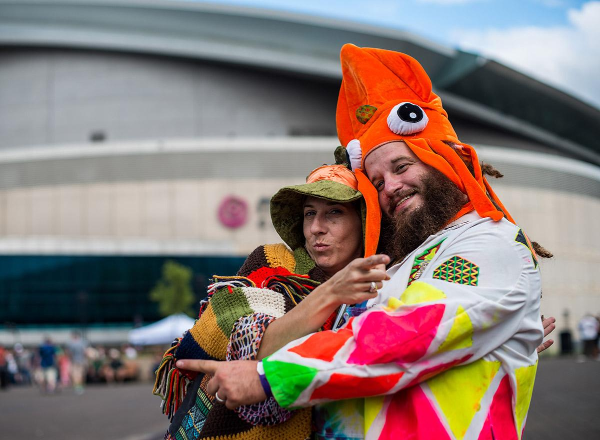 Thousands of Dead fans filled the Rose Quarter Friday, July 22 for a performance from Dead & Company at the Moda Center. (Photo by Tristan Fortsch)