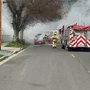 Fire crews respond to a engine fire in Grants Pass