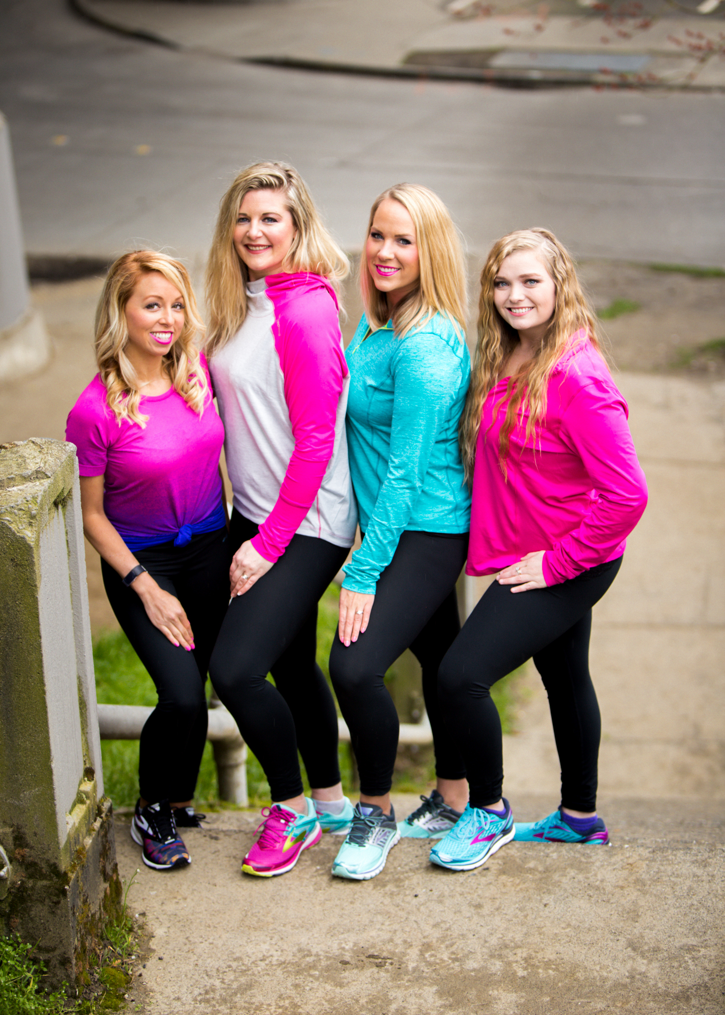 On the Ideal Protein plan, between the 4 of us gal pals we lost 120lbs and counting.  We held each other accountable and worked on our goals as a team.  Outfit: Brooks Running                      (Image: The Jeremy Townsend Experience)