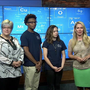 Chattanooga STEM School students show off bicycle invention