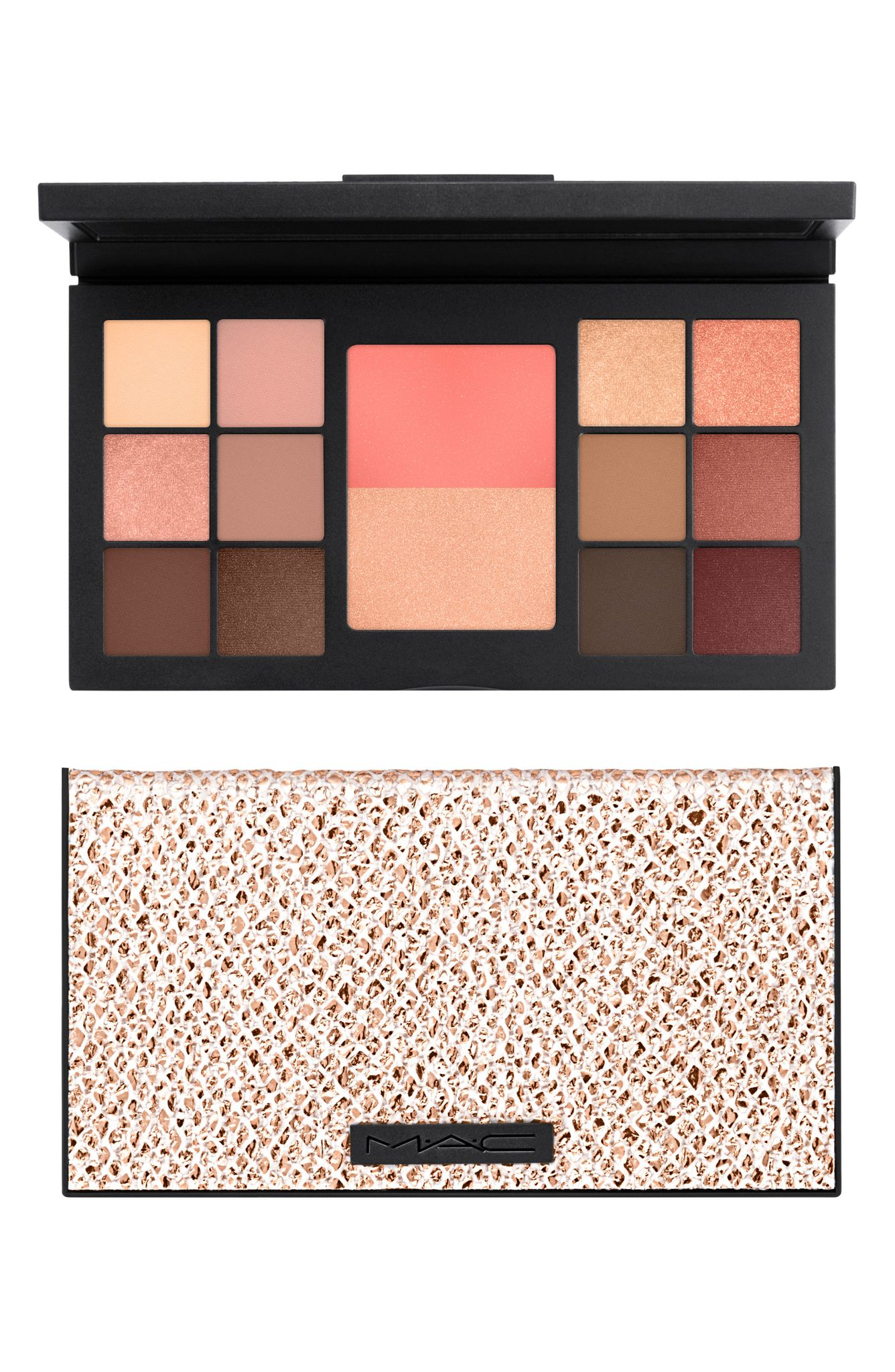 MAC Warm Eye and Face Palette (normally $82): NOW $45 (Image: Nordstrom){ }