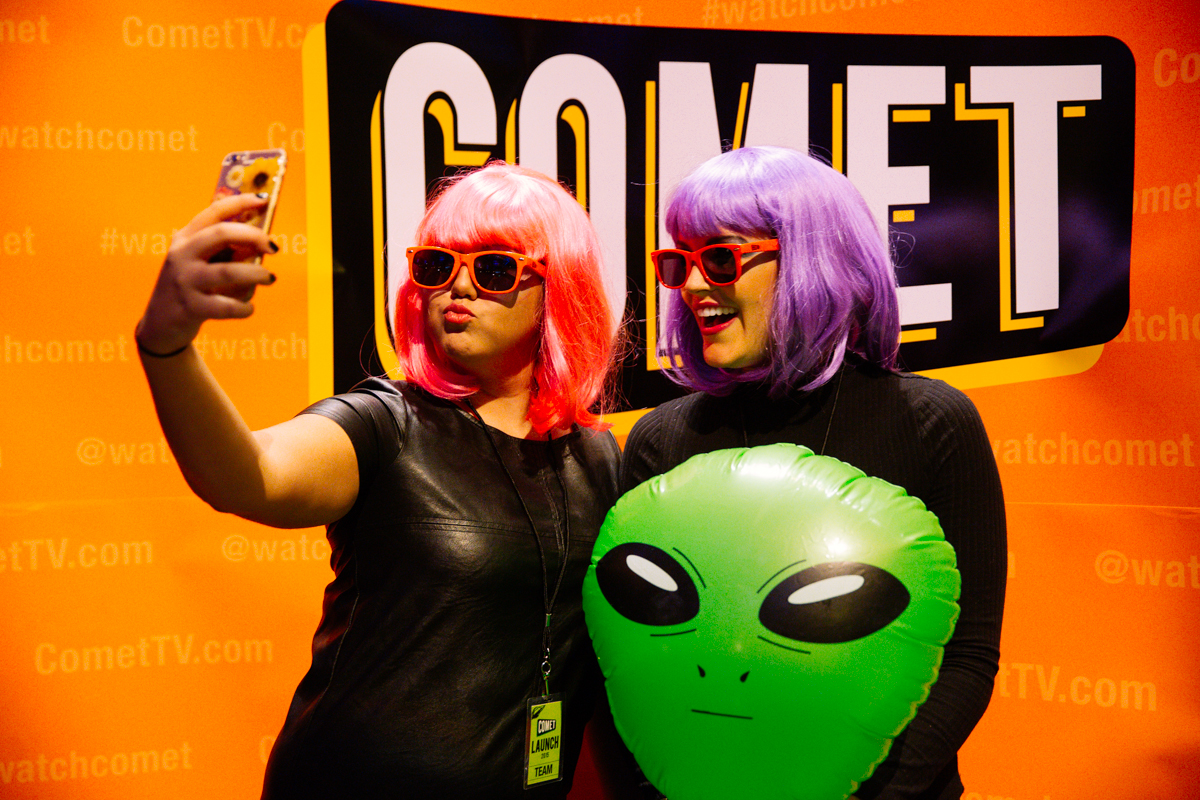 Comet TV launches with a party at EMP   Seattle Refined
