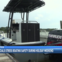 Officials urging boaters to practice safety on labor day weekend