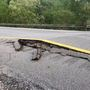 I-79 closed at Frametown exit due to crumbling roadway