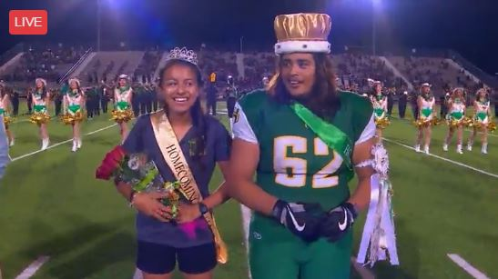 Holmes Homecoming Queen and King (Photo: Sinclair Broadcast Group)