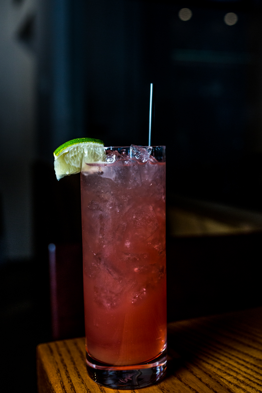Long Alley: vodka, cranberry, grapefruit, and triple sec / Image: Catherine Viox{ }// Published: 11.10.19