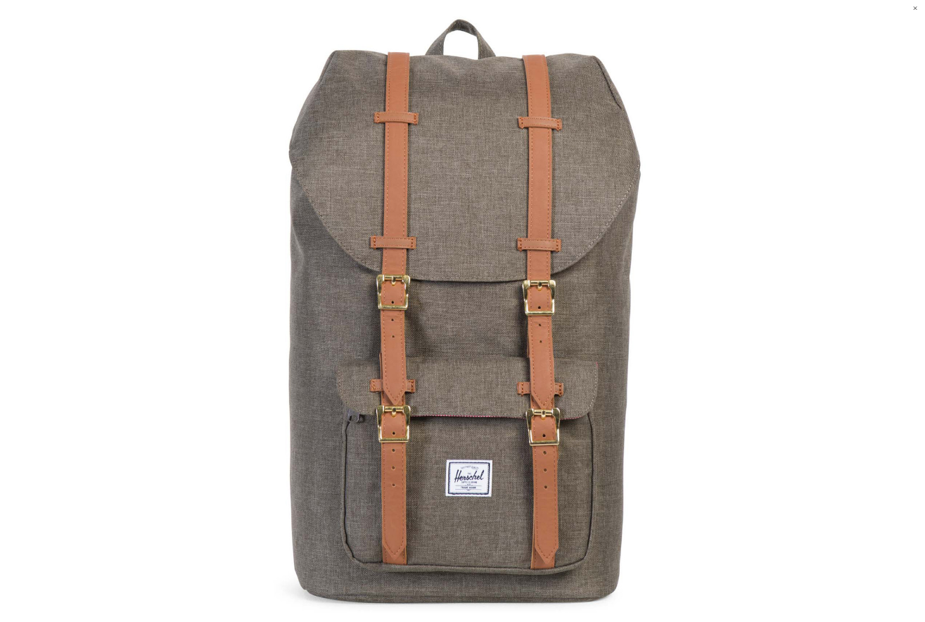 Little America Backpack Designer: Herschel Supply Co. from Moorea Seal Collection ($85.99). Find on mooreaseal.com. (Image courtesy of Moorea Seal Store)