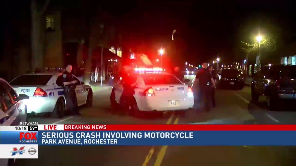 Motorcyclist seriously injured in crash involving truck on