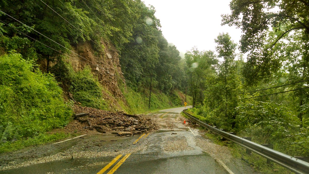 West Virginia flood damage seen Saturday, June 25, 2016. (WCHS/Bob Aaron)