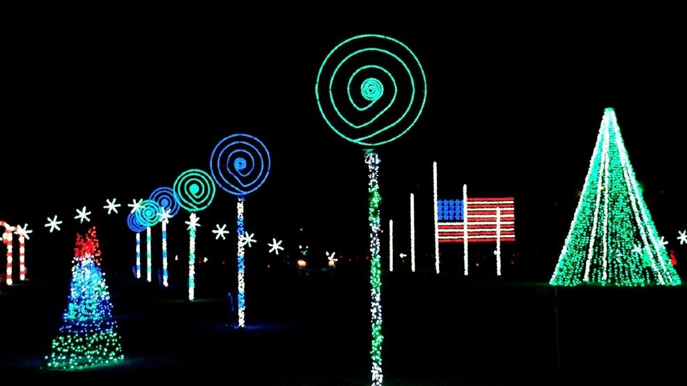 Christmas Light Show At Coney Island Cincinnati