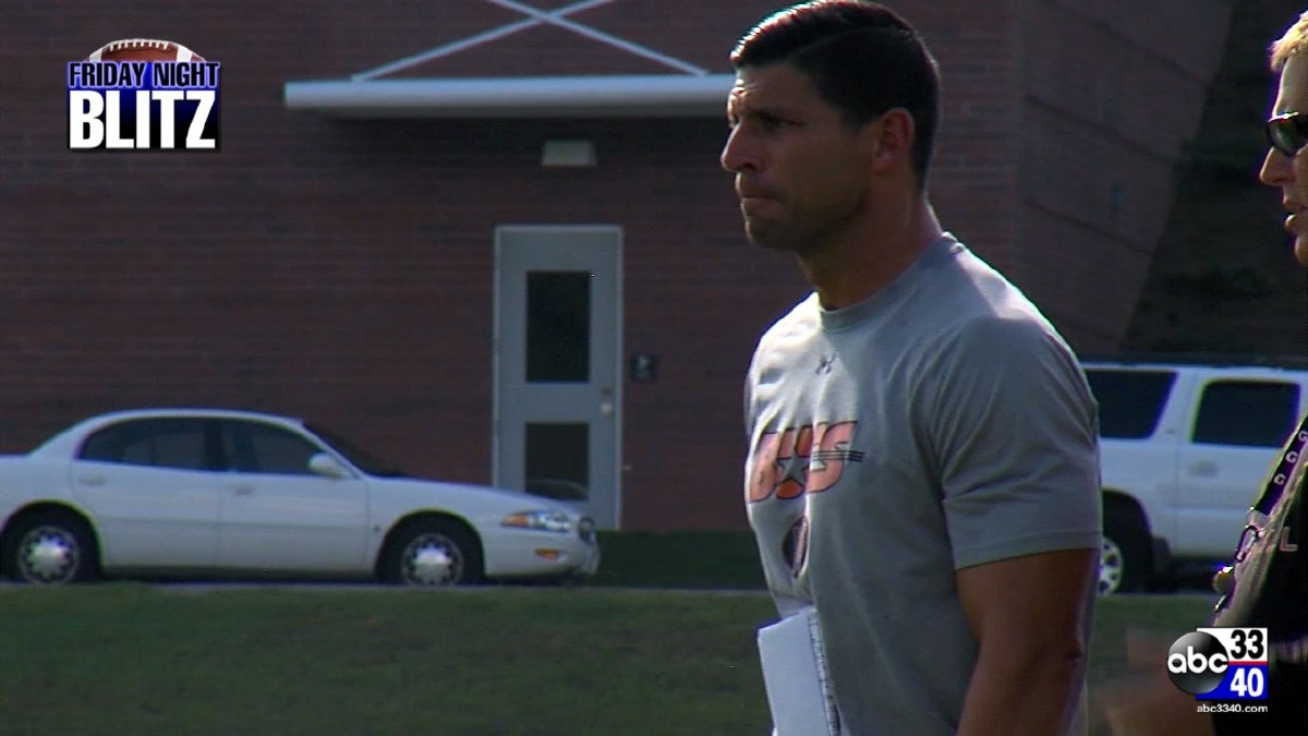 Hoover head coach Josh Niblett.