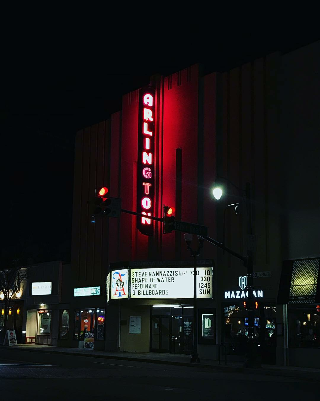 Arlington Cinema and Drafthouse: Formerly known as the Arlington, this small theater is near Ballston. (Image: Courtesy Arlington Cinema and Drafthouse)<p></p>