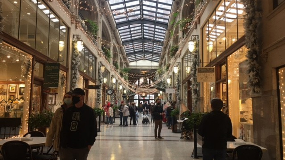 Grove Arcade transformed for the 2020 holiday season