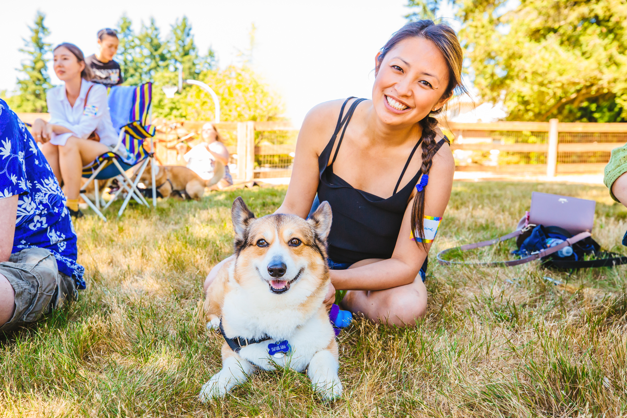 Owners and their corgis came out in droves to the 2017 Pacific Northwest Corgi Picnic in Woodinville, WA. Kathy and Leo Notenboom host the annual event at their home, which raises funds for CorgiAid, a not-for-profit corgi assistance organization. (Sunita Martini / Seattle Refined)