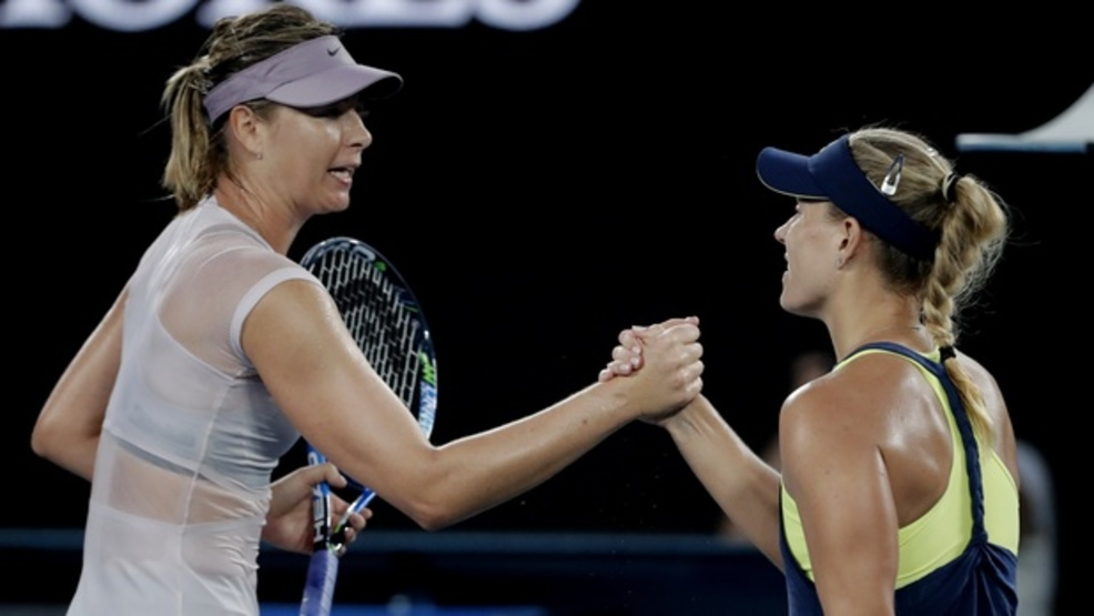 Angelique Kerber looked like a No. 1—which she was, not long ago—in a 6-1, 6-3 masterclass against Maria Sharapova. (AP)
