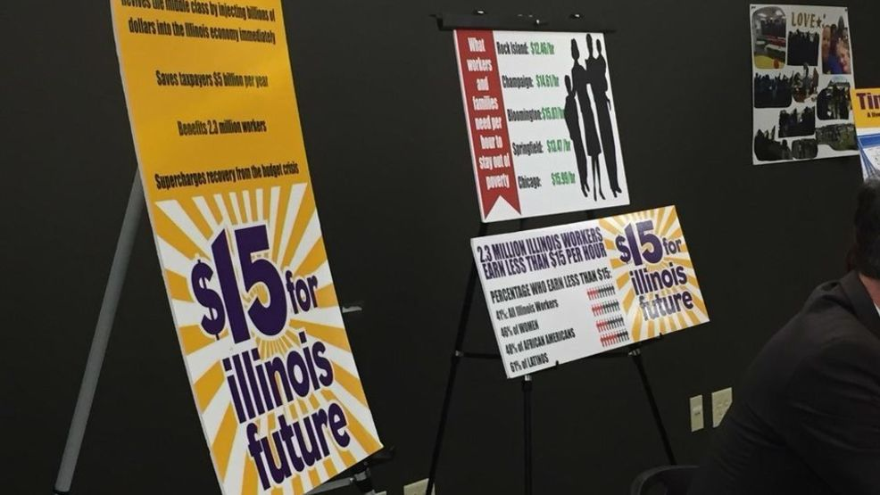 Illinois House Passes 15 Minimum Wage Bill Wrsp