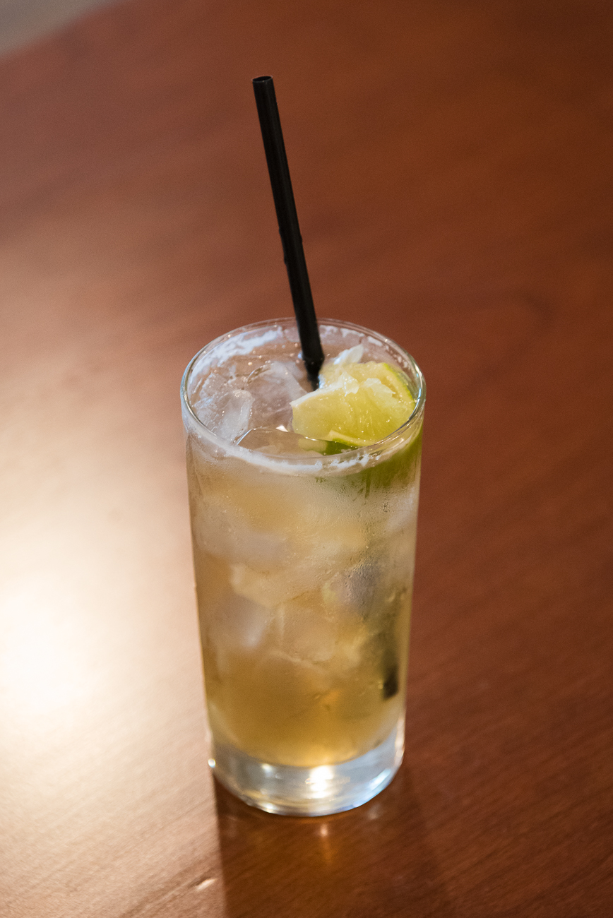 Dark & Stormy: dark rum, ginger beer, lime, and bitters / Image: Phil Armstrong, Cincinnati Refined // Published: 7.16.17