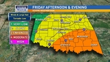 Severe weather possible in southeast Oklahoma