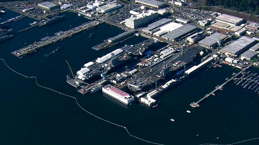4,000 gallons of sewage spills from Puget Sound Naval