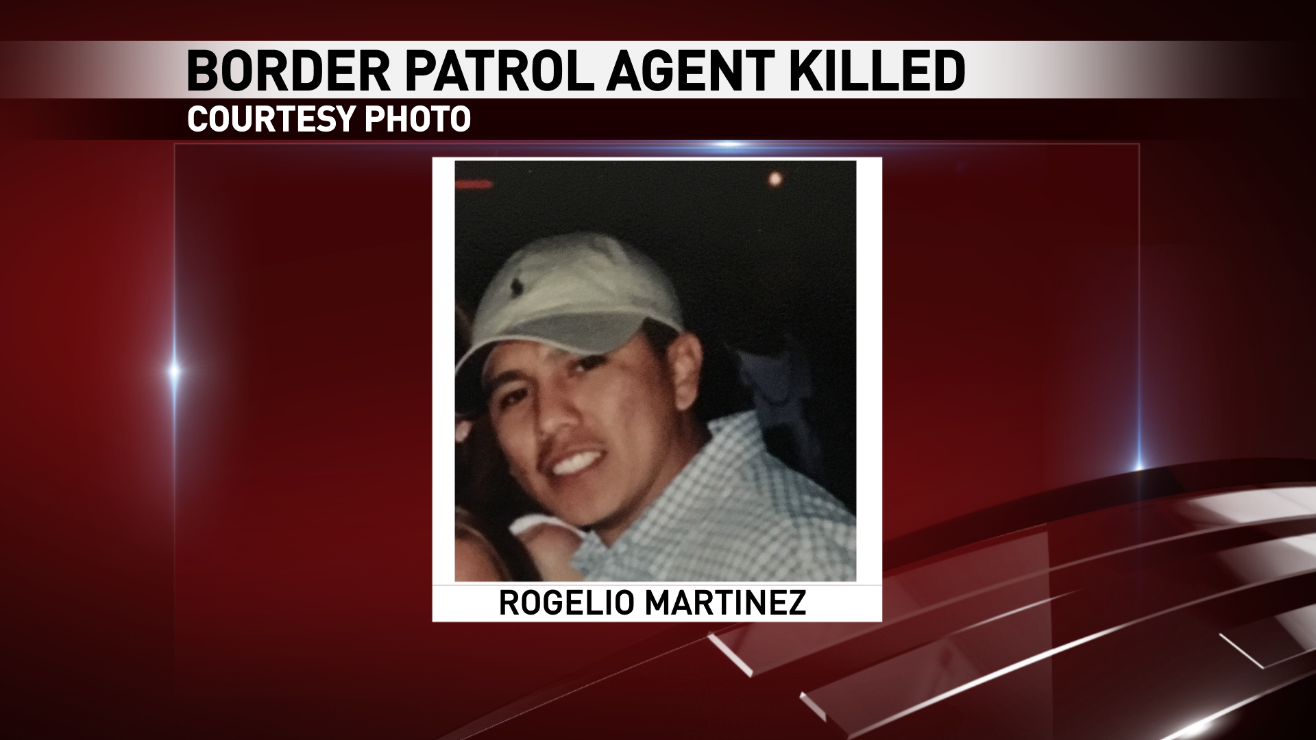 Rogelio Martinez of El Paso was killed in an incident while on duty near Van Horn, Texas Sunday, Nov. 19, 2017.{ }(Courtesy photo)