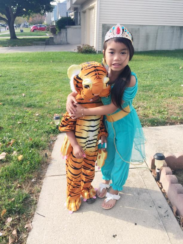 Princess Jasmine and Rajah. Submitted by Ayraia K Ros