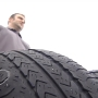 Coldwater man says metal company is to blame for popped and punctured tires
